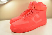 Ds Nike 2011 Air Force 1 Hyperfuse Solar Red 8.5 Vintage