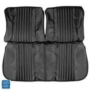 1970 Skylark Front Bench Rear Bench Without Arm Rest Seat Covers Black Set 119
