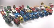 Lot Of 141 Wooden Thomas The Train Assorted Pieces Pre-owned Track And Trains