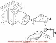 Genuine Oem Abs Hydraulic Assembly For Audi 4g0614517akbef