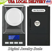 Portable Mini Digital Scale Jewelry Gold Silver Pocket Weight Gram