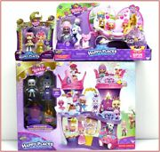 Lot 3 - Shopkins Happy Places Royal Castle + Wedding Carriage + Queen Beehave