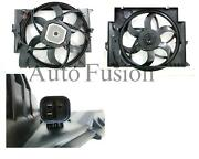 Dual Radiator Fan 3 Pin Type For Bmw 3 Series E90-e93 Diesel And 335i 05-12
