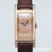 Benrus Curvex Copper Dial Redan Vintage Watches 1940s From Japan 20201108