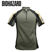 Biohazard Bsaa Tactical T-shirt Cosplay Capcom Survival Game Shris 3 Size