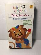 Baby Einstein Baby Newton Discovering Shapes Vhs 2002 Disney Rare Vintage