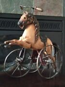 Antique Toy Tricycle Horse
