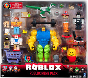 Roblox Action Collection Meme Pack Playset Exclusive Virtual Item Christmas Fr