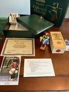 Steinbach Charter Collectorand039s Club Kit S714 Town Crier Signed 1995 1st Edition