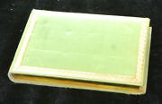 Antique Book-album Amicorum-watercolour-embroidery-various Artists-19th Cent.