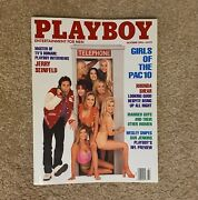 Playboy Magazine October 1993 Girls Of Pac 10 Jerry Seinfeld Jenny Mccarthyandnbsp