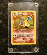 1999 Pokemon Charizard Holo Card Series 3 Rare Never Touched
