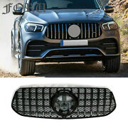 For Mercedes Benz 2020 Gle350 400 Gle450 Facelift Grille Gle W167 Grill
