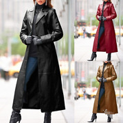 European And American Women's Coats, Jackets, Leather, Long Style Warm, Winter N