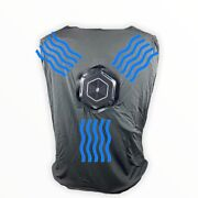 Thin Ice Moisture Wicking Thermo-cool Cooling Vest With Battery Pack