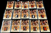 The Best Allan Houston Lot On Ebay 15 Of The 100 In The World Game Used Ssp Rare