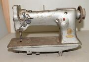 Singer Sewing Machine 111w151 One Needle Feed Leather Collectible Vintage Tool