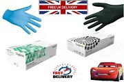 Disposable Nitrile Gloves 100 Powder Free Latex Free Black And Blue S M L Xl