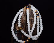 Chinese Natural Hetian Jade Handcarved Exquisite Necklaces 11325
