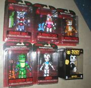 Five Nights At Freddy's Security Set Plus Bonus Bendy And The Ink Machine Figure