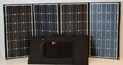 Rv Kit 420w Folding Etfe Solar Panels W Mppt Charge Controller + Accessories