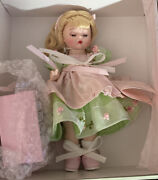 Madame Alexander Doll Wendy's Gift For You Blonde With Tag Brooch Pin Gift Box