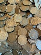 50 Indian Head Cents Pennies 1858-1909 Penny Rolls Old Estate Sale Roll Old Us