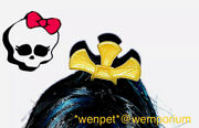 Monster High Doll Spares Cleo Oasis Spa 13 Wishes Gold Hair Accessory Clip