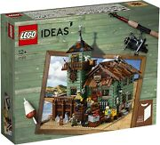 Lego Ideas Old Fishing Store 21310 Brand New And Sealed Boxed Set Retired