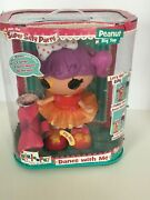 Lalaloopsy Doll Peanut Big Top Super Silly Party Sings Dances Magical Bow Works