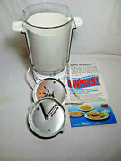 Vintage Presto Tater Twister Electric Curly French Fry Cutter Open Box
