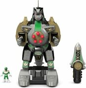 Fisher-price Imaginext Power Rangers Green Ranger And Dragonzord Rc