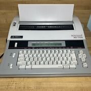 Smith Corona Xd 7700 Word Processing Electric Typewriter Tested Works Dictionary
