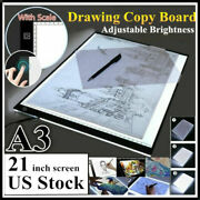 A3 21inch Led Light Box Diamond Painting Board Drawing Tracing Pad Art Projector