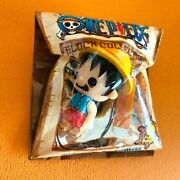 One Piece Parson Works Block Collection Strap Chain Figure Luffy Japan F/s