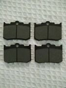 Brake Pads For 4-piston Big Dog Hhi And Performance Machine Calipers 124x4hr