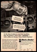 1961 Black And Decker Vibro-centric System Grinder Tool Towson Maryland Print Ad