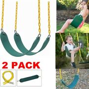 2pcs Heavy Duty Swing Seat Swings Set Accessories Replacement Outdoor Adult Kids