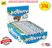 Bounty Bar Milk Chocolate Covered Coconut 24 Count - Fast Free Shipping On Sale