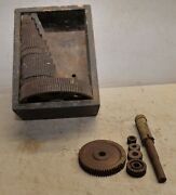 21 Vintage Lathe Gear Atlas Craftsman 5/8 Hole Collectible Machinist Tool Lot