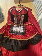 Halloween Costumes Women Red Riding Good And Animated Wolf Masked Both Worn And