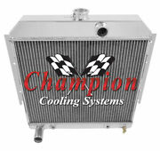 Champion Cooling 2 Row All Aluminum Radiator For 64 Dart A Body 19 Core Ae...