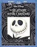 The Nightmare Before Christmas Blu-ray/dvd, 2010, 2-disc Set, Collectors...