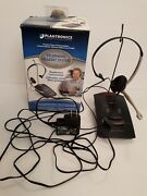 Plantronics S11 Telephone Headset System Hands Free Used In Box Multi-line