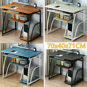Computer Desk Study Office Storage Pc Laptop Table Student Writing Table Home