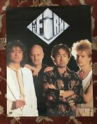 The Firm Rare Original Promotional Poster From 1985 Jimmy Page Paul Rodgers