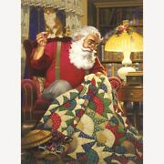 Diamond Painting Christmas Santa Claus Sewing Blanket Cute Embroidery Decoration