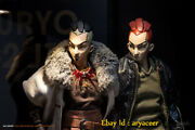 Ax2 Studio Dogs And Apes Series Karyudo And Jin Action Figure Model In Stock