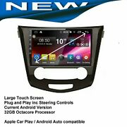 For Nissan Xtrail T32 2014-20 Bluetooth Gps Apple Carplay Android Auto 4x4 Map