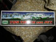 New In Box 2010 Hess Toy Truck And Jet
